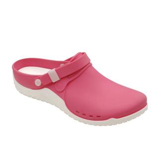 Clog PROGRESS ružová pracovná obuv