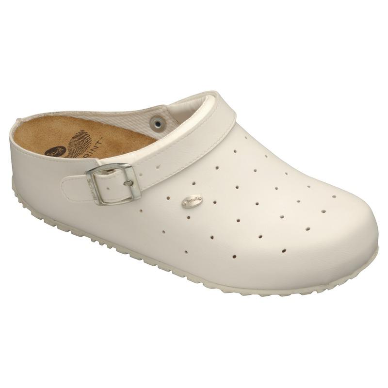 Scholl Clog SOPHY biela pracovná obuv