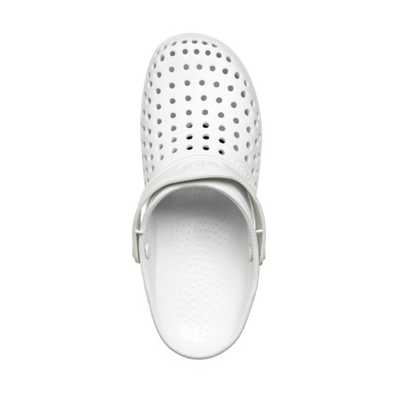 Scholl LIGHT COMFORT biela pracovná obuv
