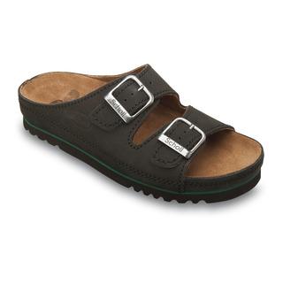 AIR BAG - čierne zdravotné papuče