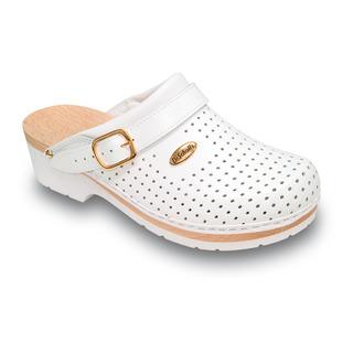 Clog SUPERCOMFORT - biela zdravotná obuv