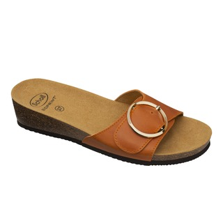 AMALFI MULE - oranžové zdravotné papuče