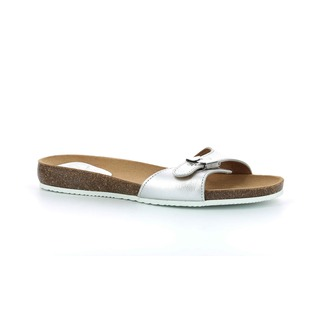 BAHAMAIS - strieborné zdravotné papuče