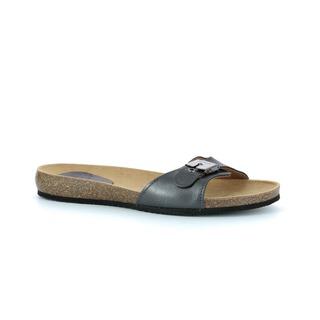 BAHAMAIS - kovovo šedej zdravotné papuče