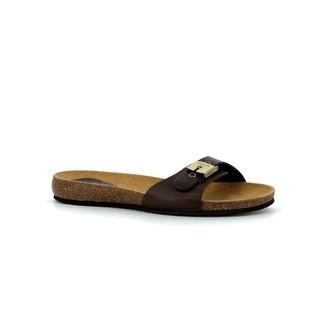 BAHAMAIS - tmavo hnedé zdravotné papuče