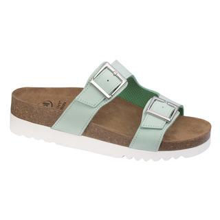 Filippa zelené zdravotné papuče