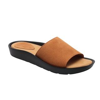 Scholl Meisse tmavo šedé zdravotné papuče