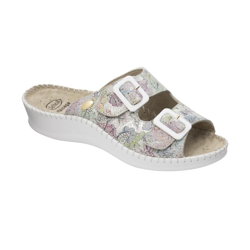 Scholl WEEKEND - biele zdravotné papuče