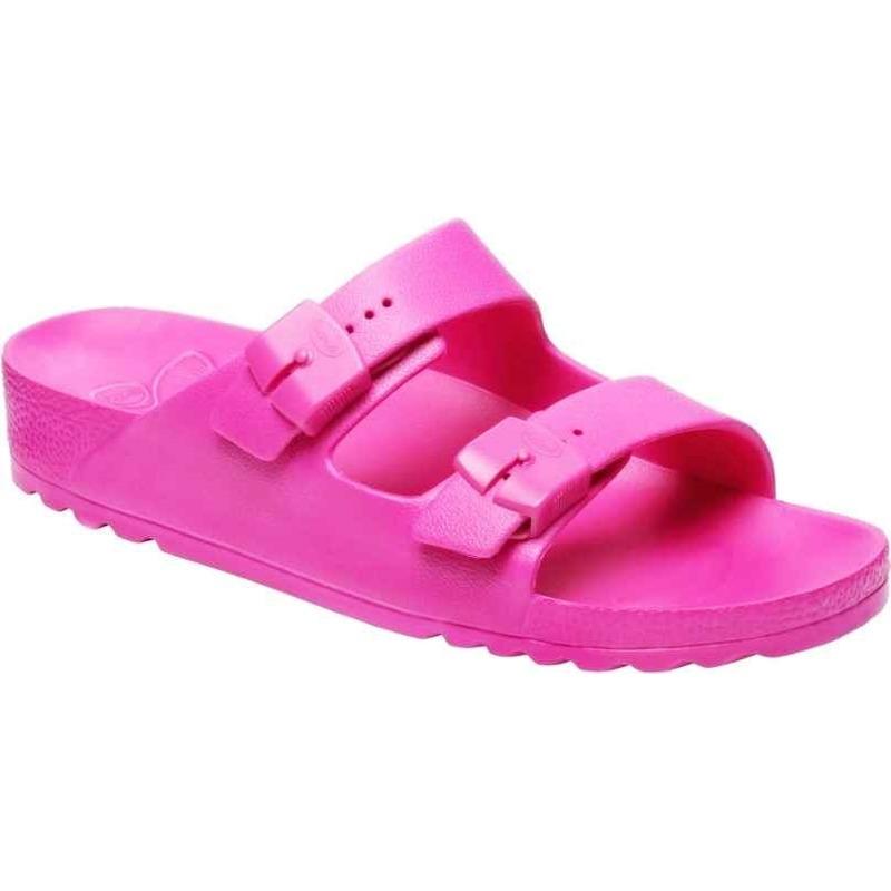 Scholl SHO BAHIA - neónovo ružové zdravotné papuče