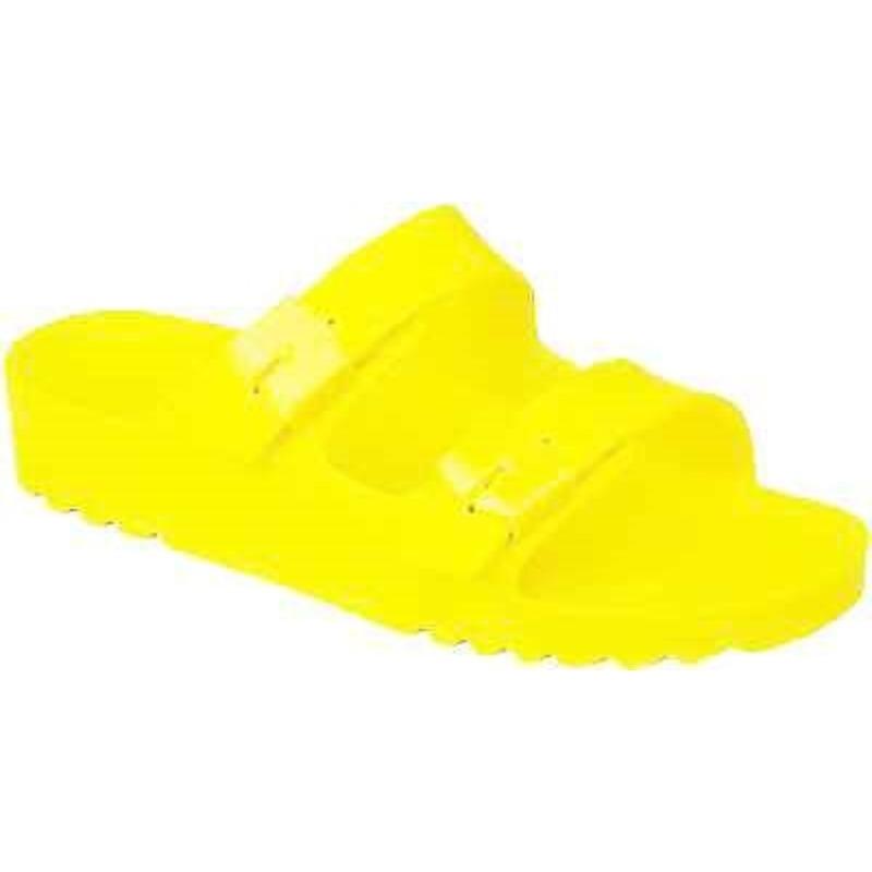 Scholl SHO BAHIA - neónovo žlté zdravotné papuče