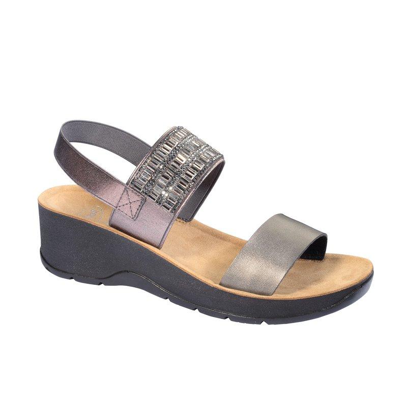 Scholl CRISTINA cínové zdravotné sandále