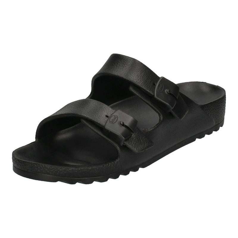 Scholl SHO BAHIA - strieborné zdravotné papuče