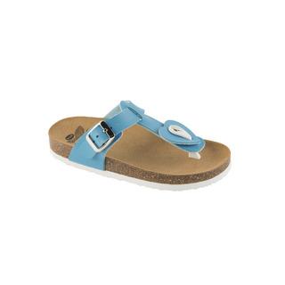 BOA VISTA KID tyrkysové detské zdravotné papuče