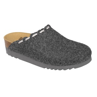 Elodie tmavo šedá domáca obuv