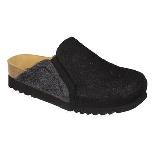 Kelsie čierna domáca obuv