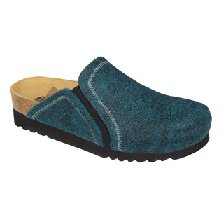 Kelsie modrá domáca obuv