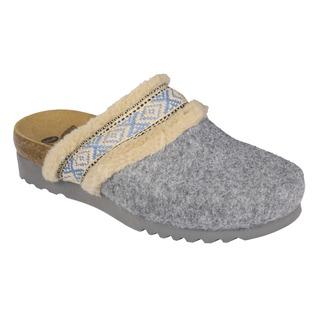 MAYA sivá domáca obuv