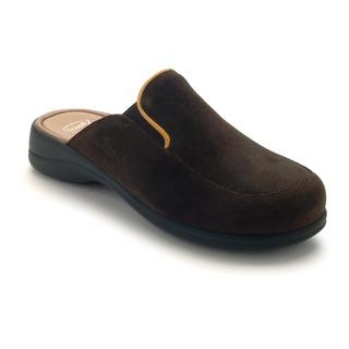 Moue tmavo hnedá domáca obuv