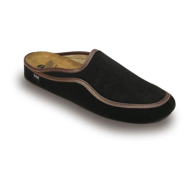 Scholl BRANDY čierna domáca obuv