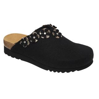 HENRIETTE čierna domáca obuv
