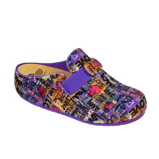 LARETH viacfarebná domáca obuv