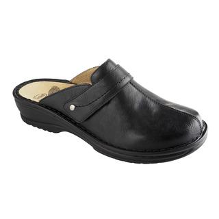 Lenkou modrá domáca obuv