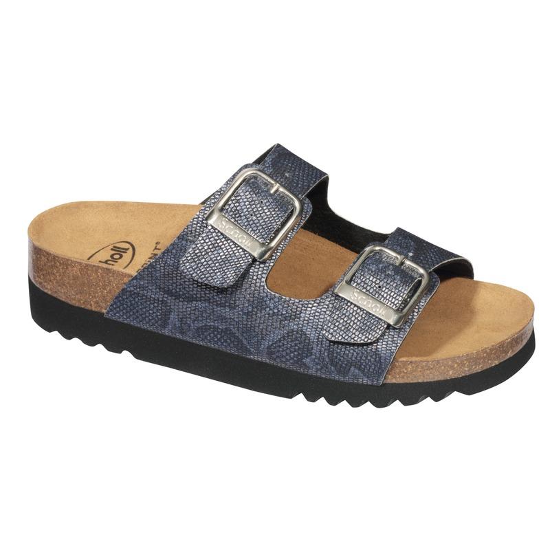 Scholl Mälaren modré zdravotné papuče (model 2019)