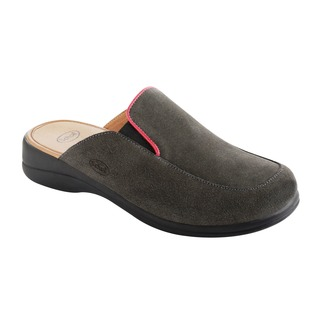 Moue tmavo šedá domáca obuv