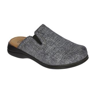 NEW Toffee tmavo šedá domáca obuv