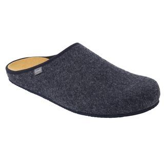 SHELDON tmavo modrá domácej zdravotnej obuv