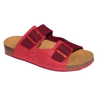 SPIKEY8 - červené zdravotné papuče