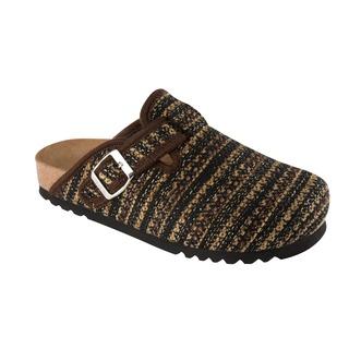 Vaud hnedé zdravotné papuče