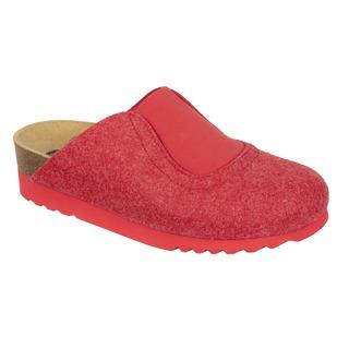 Yole červená domáca obuv