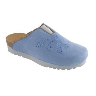 Pine modrá domáca obuv