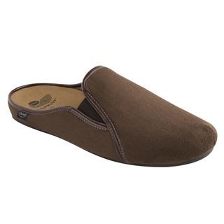 FELCO tmavo hnedá domáca obuv