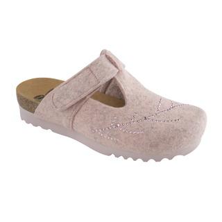 FOTINIA svetlo ružový domáca obuv