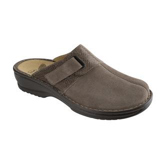 Iraty šedá domáca obuv