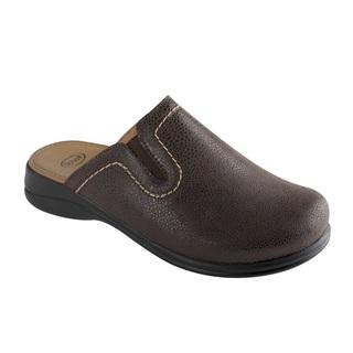 NEW Toffee tmavo hnedá domáca obuv