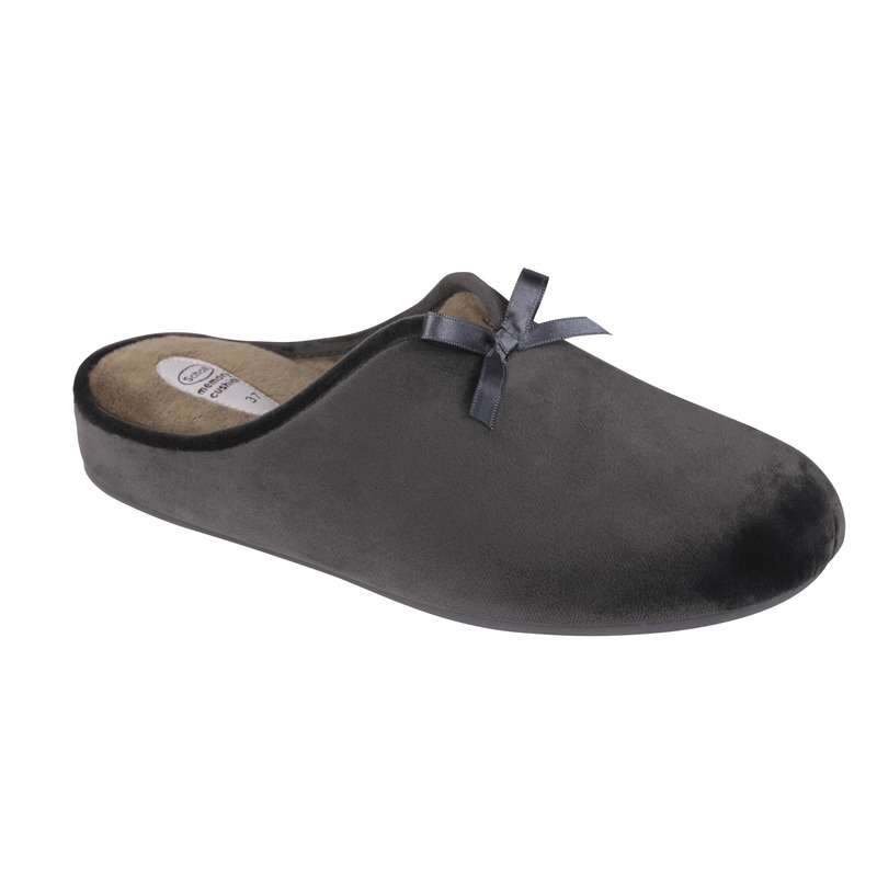 Scholl Rachele šedá domáca obuv