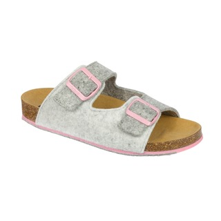 Spikee SS 8 - šedé zdravotné papuče