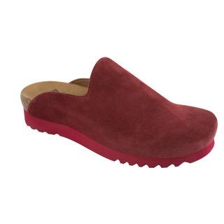 SIRDAL červená domáca obuv
