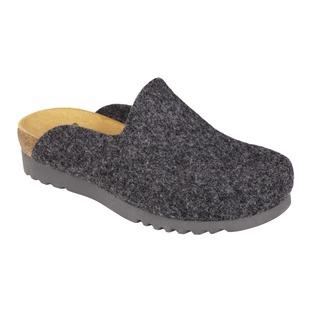 SIRDAL tmavo šedá domáca obuv