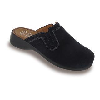 Toffee tmavo modrá domáca obuv