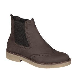 RUDY tmavo hnedá členková obuv
