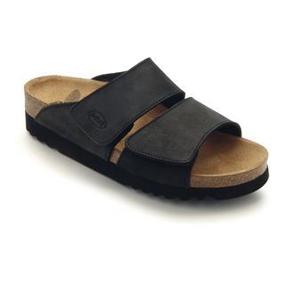 AALIM čierne zdravotné papuče