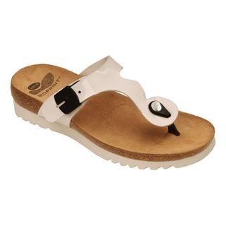 Berici biele zdravotné papuče