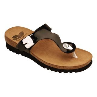 Berici čierne zdravotné papuče