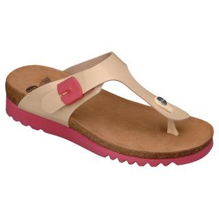 BOA VISTA UP béžovej zdravotné papuče