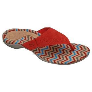 BREVA červené zdravotné papuče