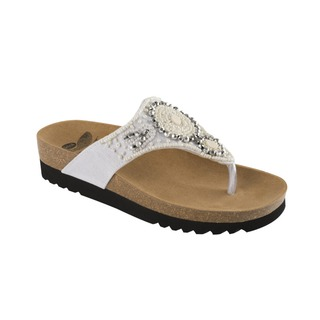 Tail biele zdravotné papuče